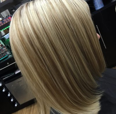 Time to start brightening your blonde for Spring!