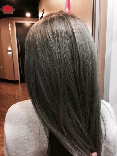 Gray Hair  has officially taken over the internet as the coolest hair trend.
